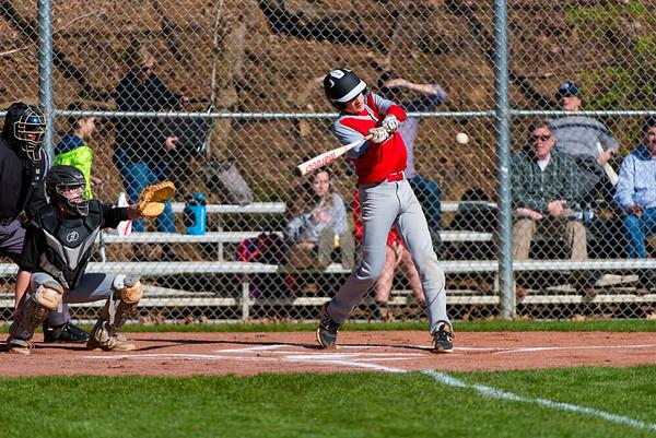 St. Martin's Baseball Action