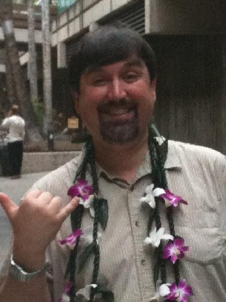 Aloha.  George in Hawaii!