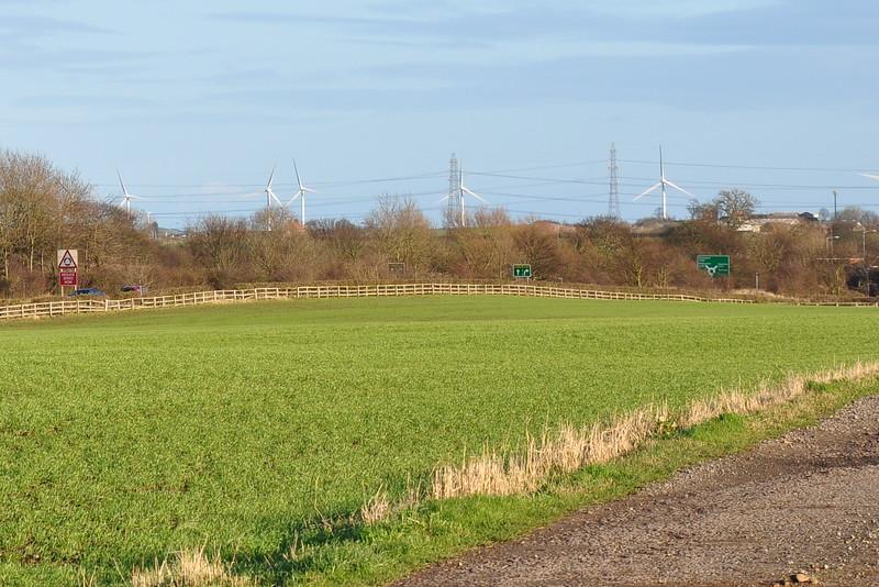 Walkway from Spring Lane Sedgefield - Richard Cowen.JPG