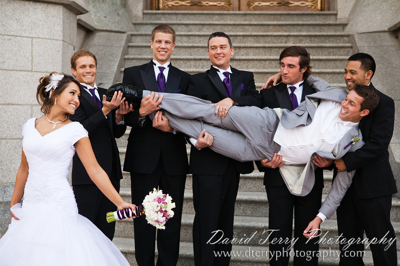 David Terry Photography - David and Miriam Wedding at Salt Lake Temple