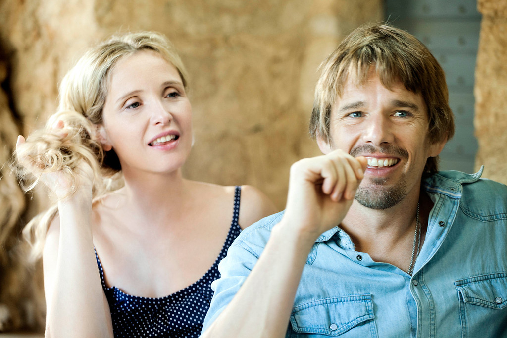 """. Left to right: Celine (Julie Delphy) and Jesse (Ethan Hawke) return for in Richard Linklater\'s third installment of their relationship saga \""""Before Midnight.\"""" Provided by Sony Pictures Classics."""