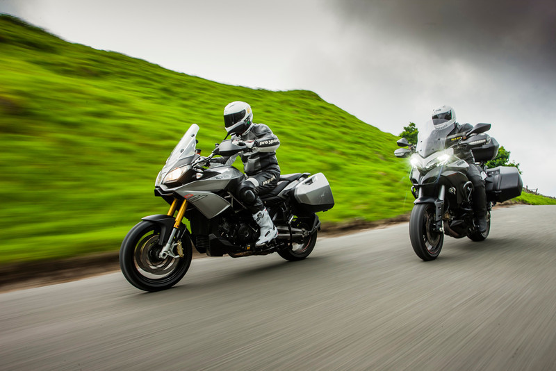 See article:  Multistrada 1200 GT vs Capoonord 1200TP... Photos by Jason Critchell -  Copyright Jason Critchell - http://www.jasoncritchell.com
