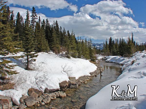2008-04-13 (Lake Louise / Frozen Falls)