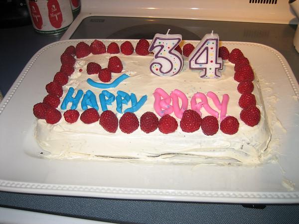 Hong Family May 2007 Birthdays