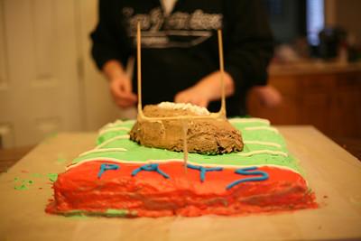 Boys Cake Baking