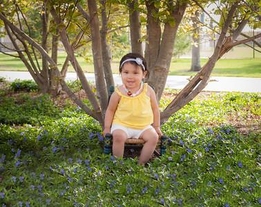 Alianna's 18 Month Portraits