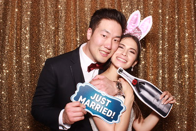 Seok Jin and Adriana's Wedding pics