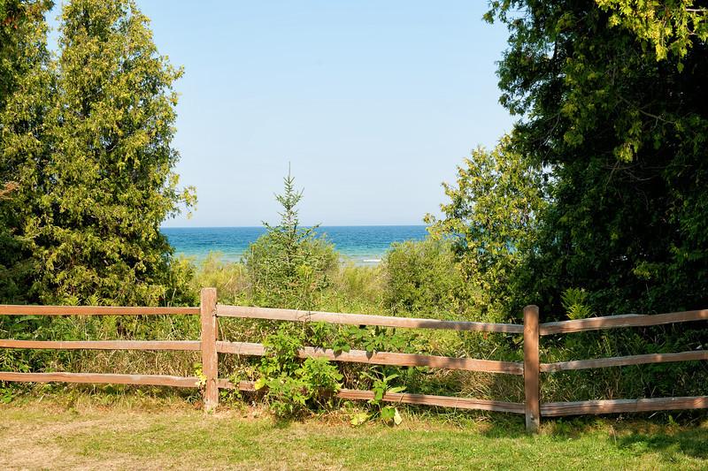 051 Michigan August 2013 - Grand Traverse Lighthouse Shore.jpg