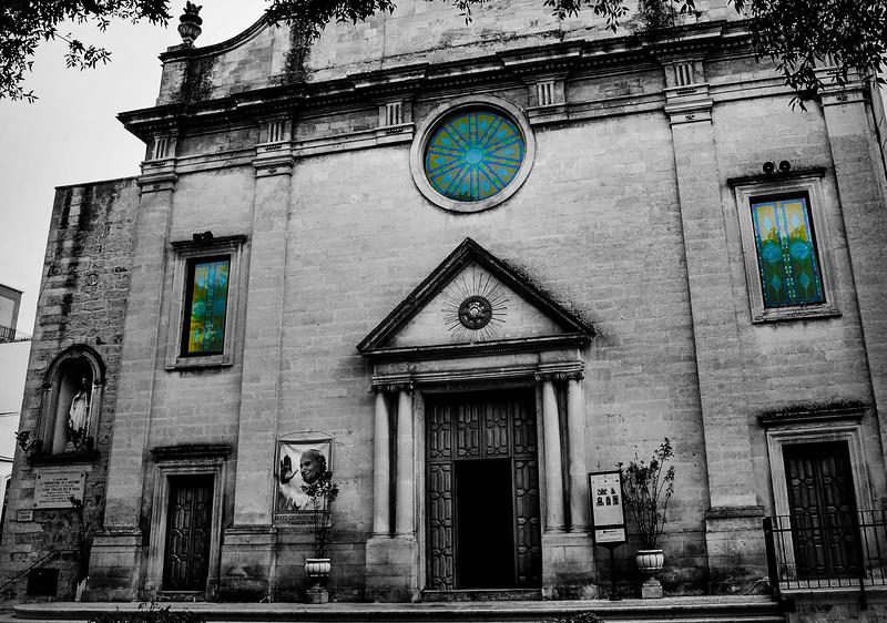 Chiesa di Sant'Antonio  Martina Franca, Puglia (Nov 7, 2011)