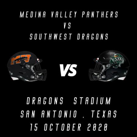 2020 Medina Valley vs Southwest