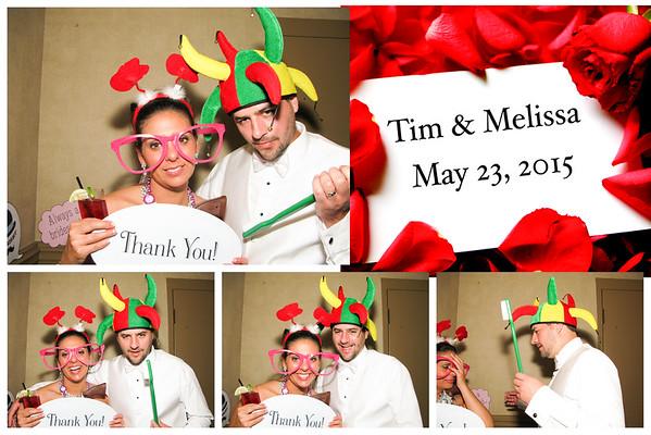 Melissa & Tim Wedding Photo Booth