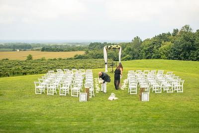 Sara and Matt: Pre Ceremony