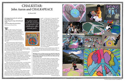 ARTICLES, LINKS and Videos about CHALK4PEACE