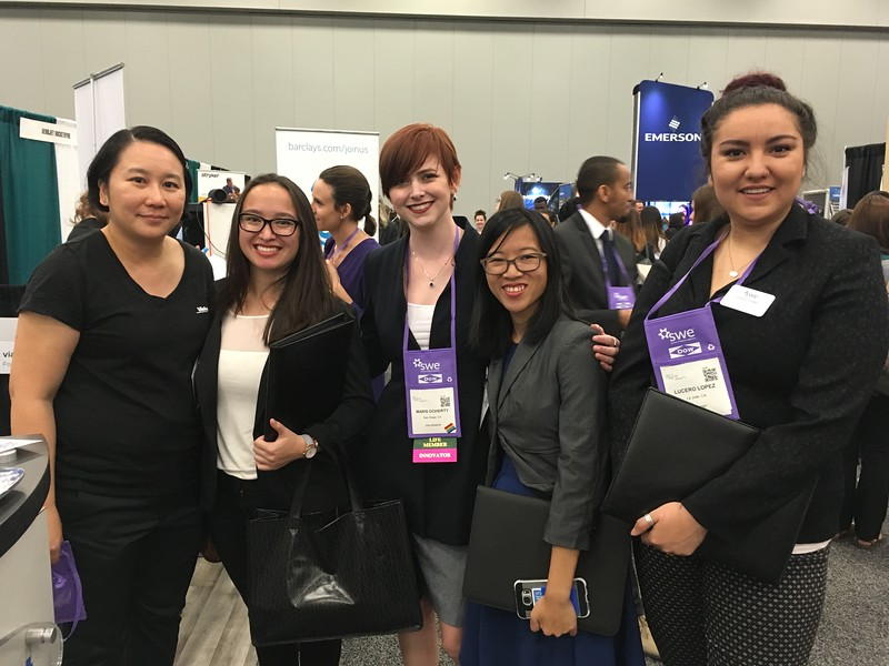 SWE UCSD at WE17 Career Fair - Fri Oct 27