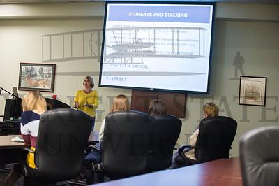 16964 Guest Speaker Debbie Riddle for Faculty Lunch Presentation 1-19-16