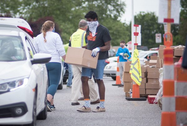 Knight of Columbus York County Food Bank 06022020