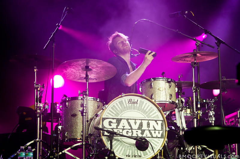"""Ian O'Neill performs with Gavin DeGraw on November 12, 2011 during """"Orlando Calling 2011"""" at The Citrus Bowl in Orlando, Florida"""