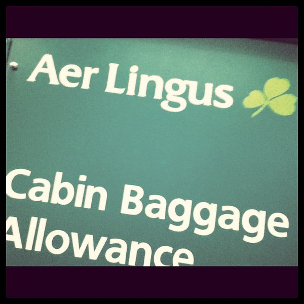 Am I the only one childish enough to giggle at the name Aer Lingus?