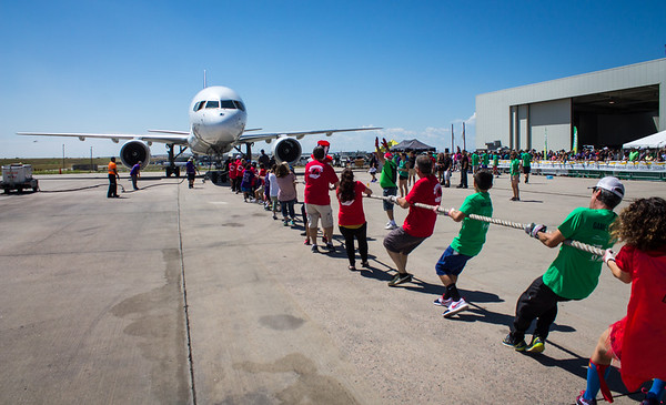 8-12-17 Special Olympics Plane Pull