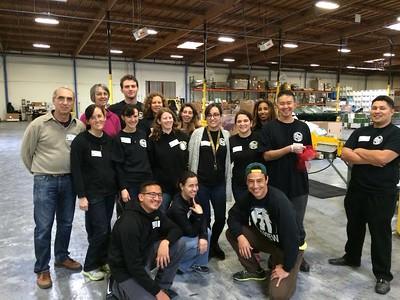 Staff at Alameda County Food Bank