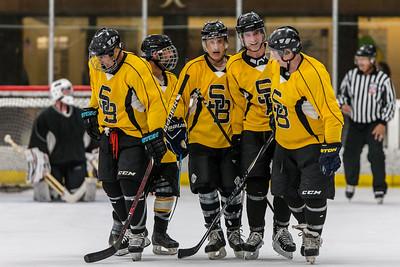 50A - Snoopy Bruins vs. The Sunday Club 50's