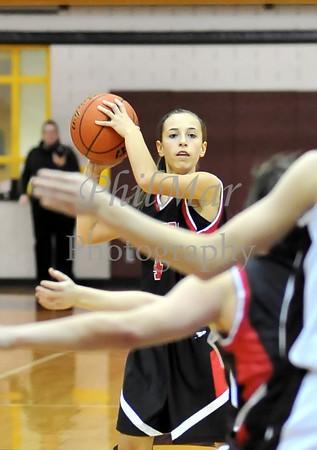 Schuylkill Valley VS Central Girls Basketball 2010 - 2011