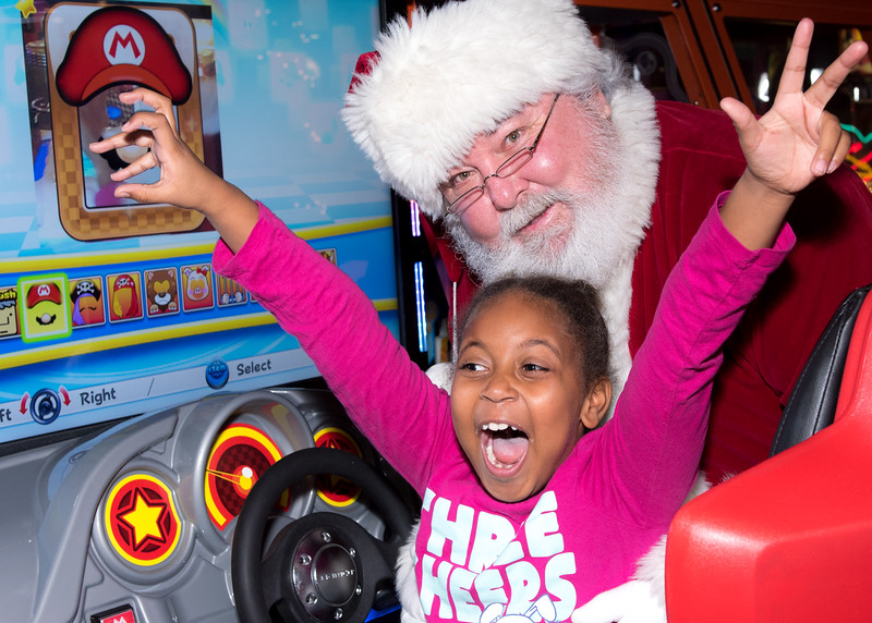 2015 Breakfast with Santa Event Photography