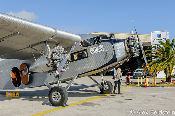 Ford Trimotor at Miami Executive 2015