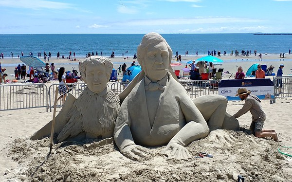 15th International Sand Sculpting Festival - July 20-22, 2018
