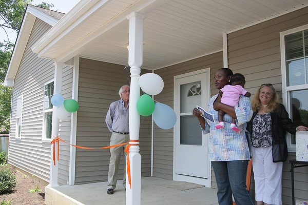 Habitat house dedicated in North Hills