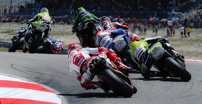 2009 WORLD SUPER BIKE ROUND 7 Miller Motorsports Park