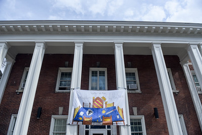 Dorm Homecoming banners