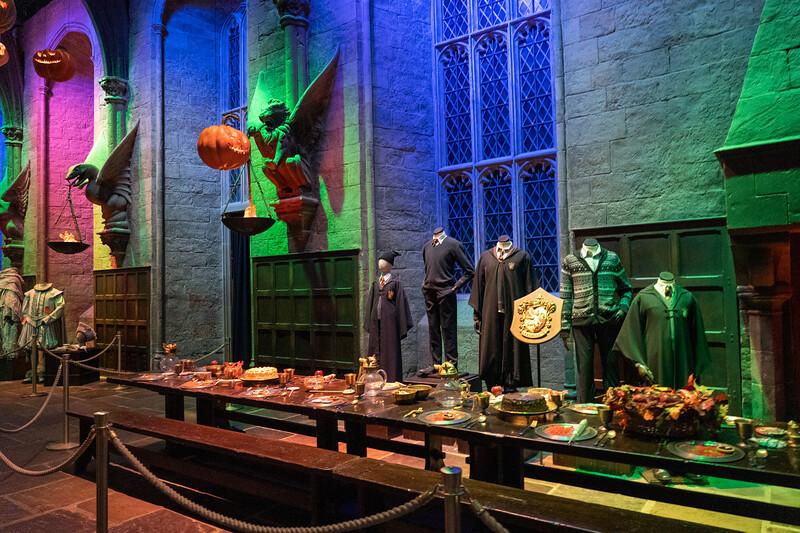 Hogwarts Great Gall at Warner Bros. Studio Tour London