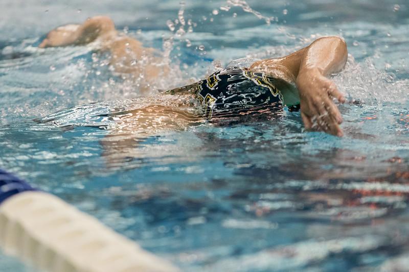 Clarkson Athletics: Swimming at the RIT Don Richards Invitational