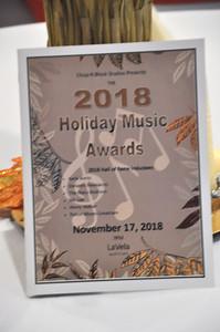 Holiday Music Awards Nov 17, 2018