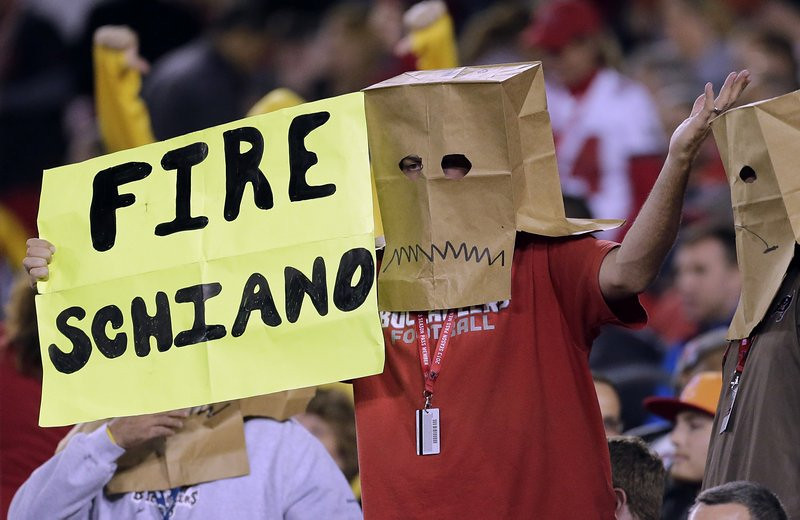 . <p><b> Buccaneers at Seahawks (-16):</b> <p>Bucs players insist coach Greg Schiano has not lost the locker room amid the team�s 0-7 start. He has lost, however, the city of Tampa, the entire Gulf Coast region ... and the possibility of ever being a head coach ever again. <p>Pick: <b>Seahawks by 21</b> <p>    (AP Photo/Chris O\'Meara, File)