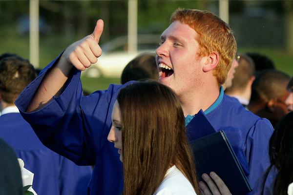 Springfield Township High School graduation