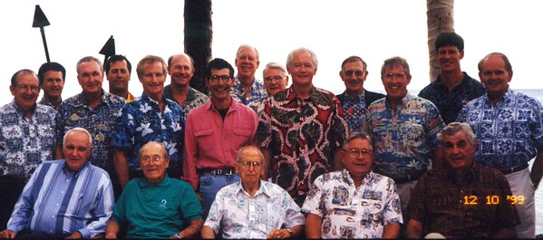 1999 Past President's Lunch 12-10-1999