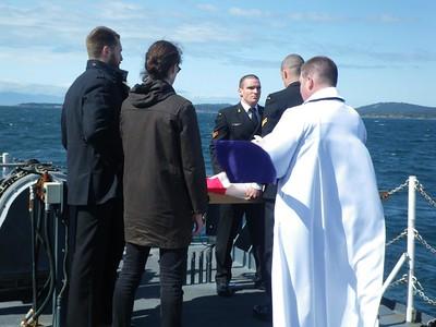 Dr Kidd Burial at Sea