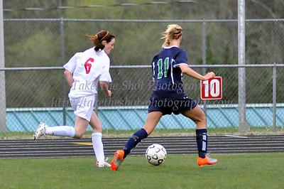 2011-03-25 Butler Women's Soccer VS Weddington