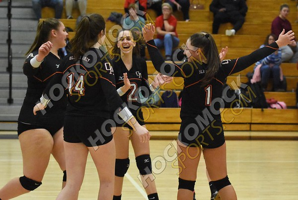 Oliver Ames - Durfee Volleyball 11-1-18