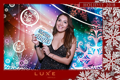 LUXE Sunset Holiday Party 2018