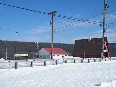 Snow Storm, Heisler's Dairy (2-26-2010)