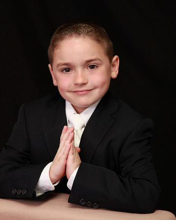 FRANKIE, 1ST COMMUNION
