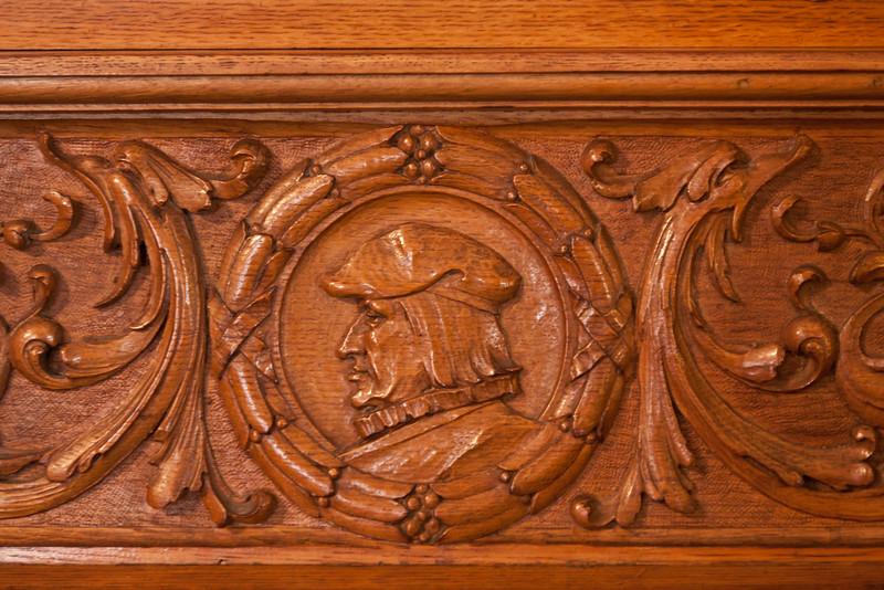 Entrance Hall , St. Mary's Villa, Lindenwald Castle in Ambler, PA