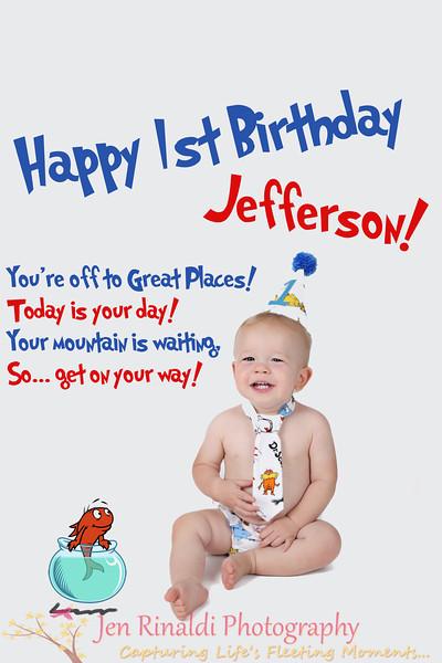 Jefferson {1 year} 9/13/13