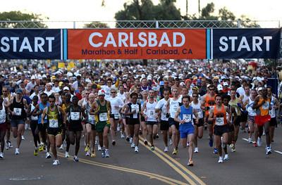 Carlsbad Marathon and Half 2008