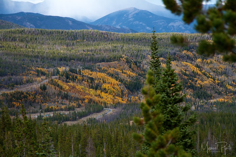 Falls colors - Rocky Mountain National Park,