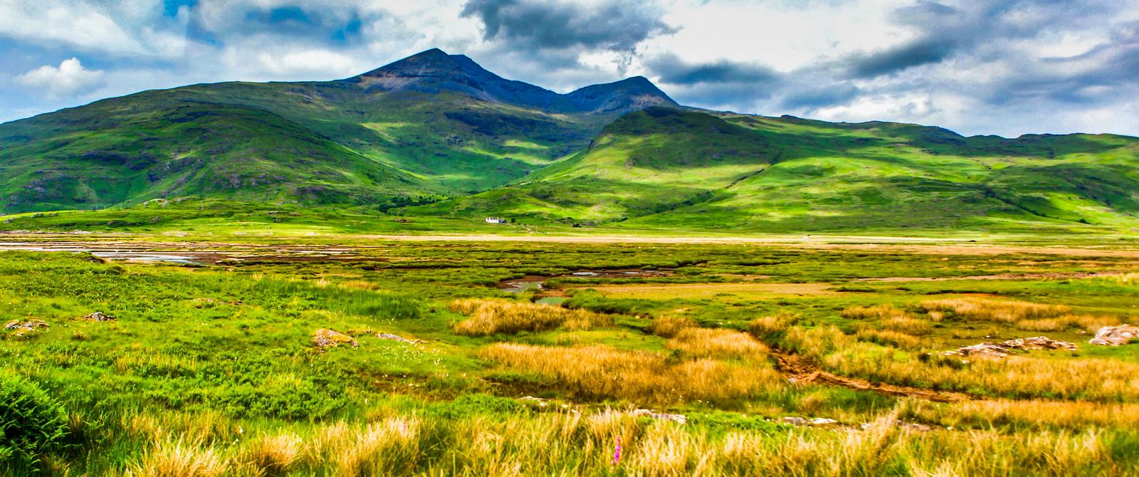 苏格兰美景,风景画看不完
