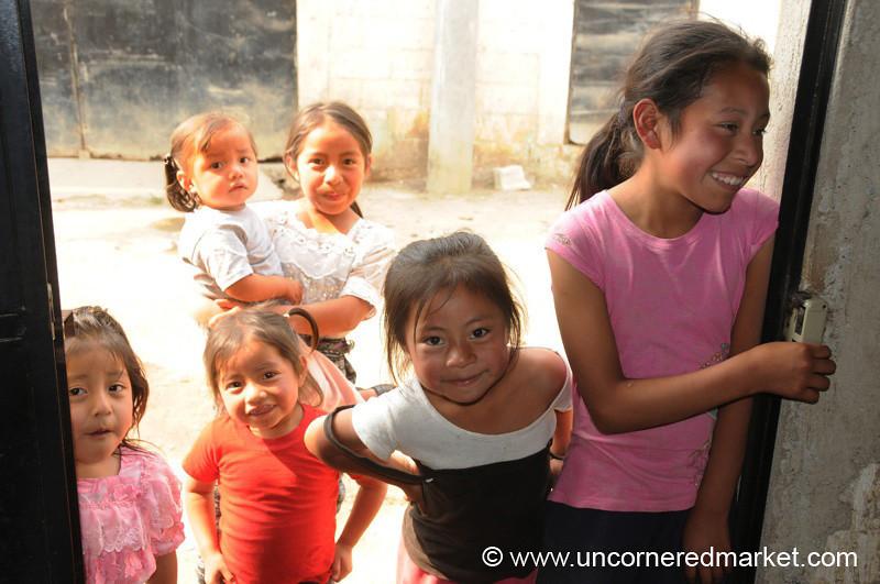 Guatemalan Children - San Pedro Sacatepequez, Guatemala